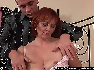 whorish grandmother Gets Fisted Before She Gets A facial cumshot