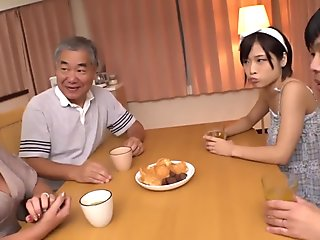 GVG-843 The Groom Is Targeting His Mother-In-Law   s Lena Fukiishi