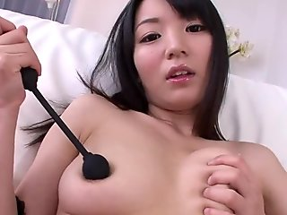 Delicious japanese titty fuck