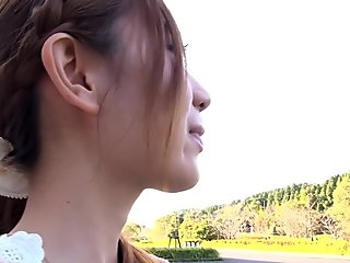 Exotic Japanese girl in Best HD, Public JAV clip