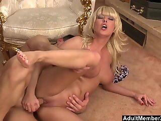 fuckin' His fat boobed Hot Blonde Wife