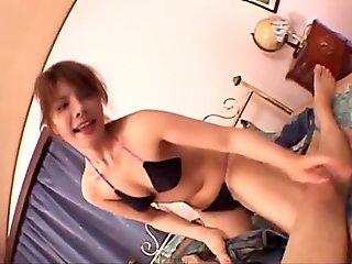 Sexy Sara Nakamura gets tasty dick in POV session
