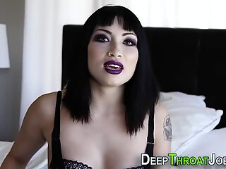 Lusty Deepthroat Scene