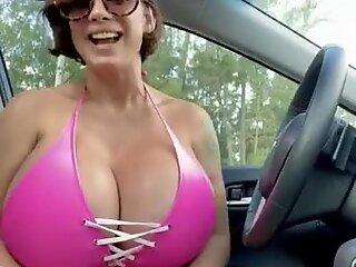 Brittany Elizabeth-Happy Thursday Flashing