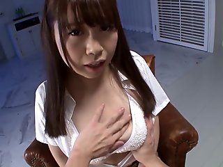 Crazy Japanese girl in Exotic POV, HD JAV movie