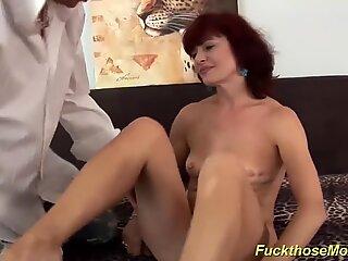skinny redhead mom fucked