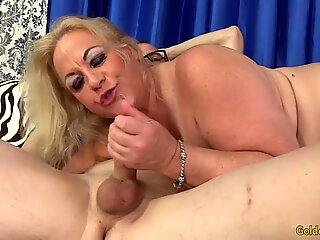Thick Grandma Sucks Mean Dick and Fucks